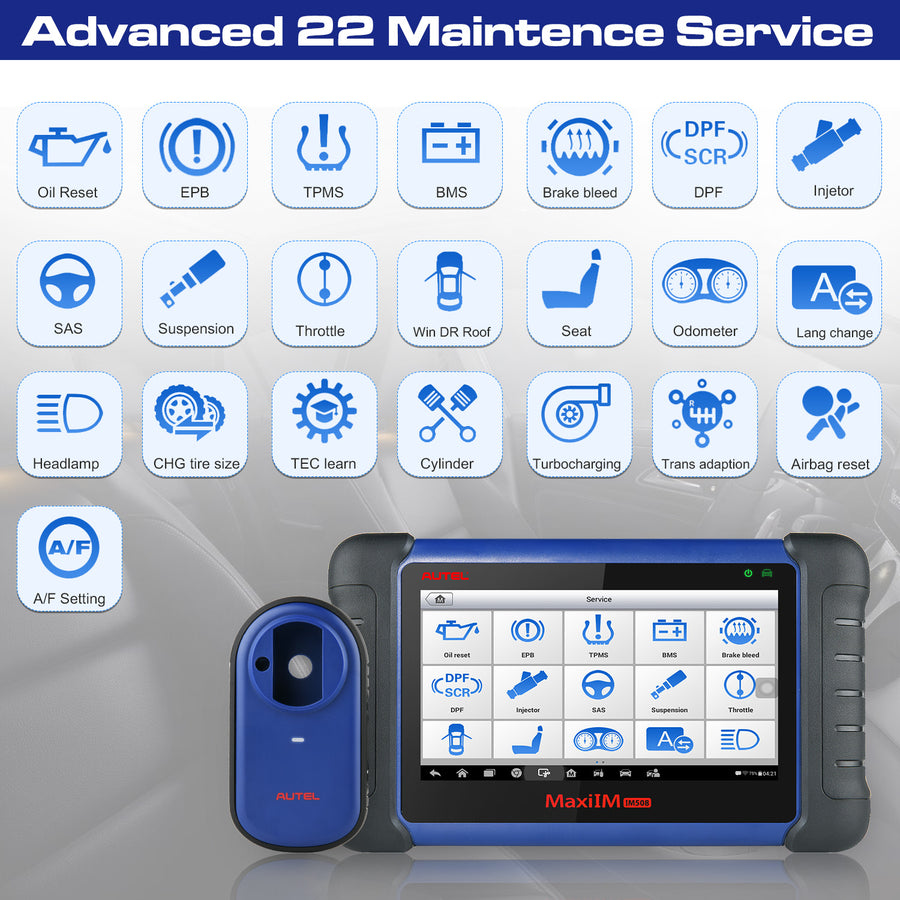 autel im508 advanced service