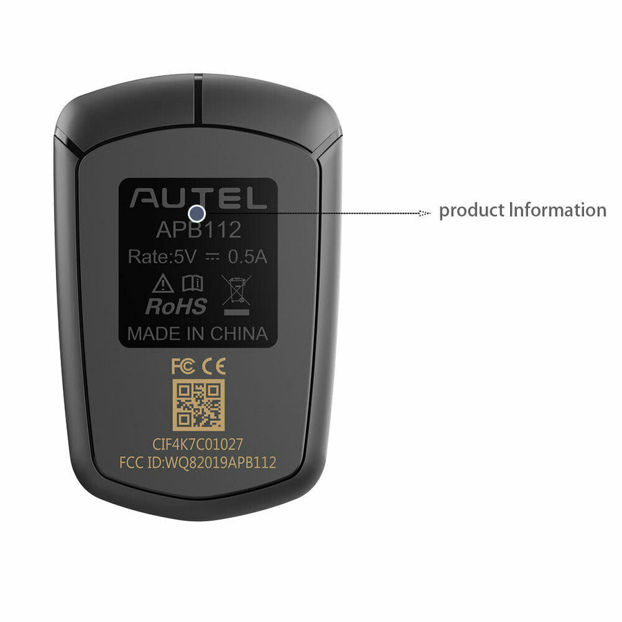 Autel APB112 Smart Key Simulator back display