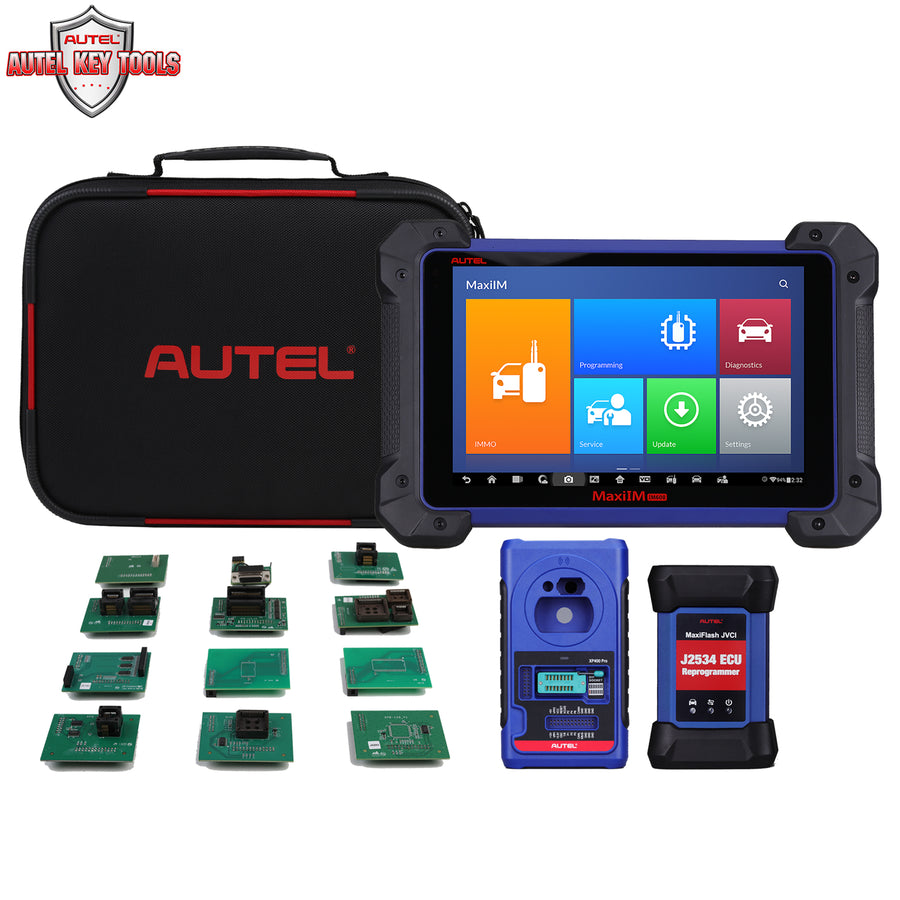 Autel MaxiIM IM608PROKPA Advanced IMMO & Key Programming Bundle included XP400Pro and KPA expanded Accessories Package