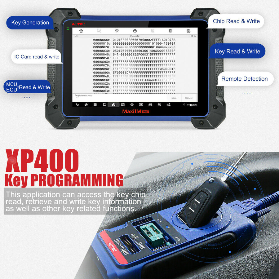 Autel XP400 PRO Chip Programmer IMMO Diagnostic tool For IM508 IM608 PRO