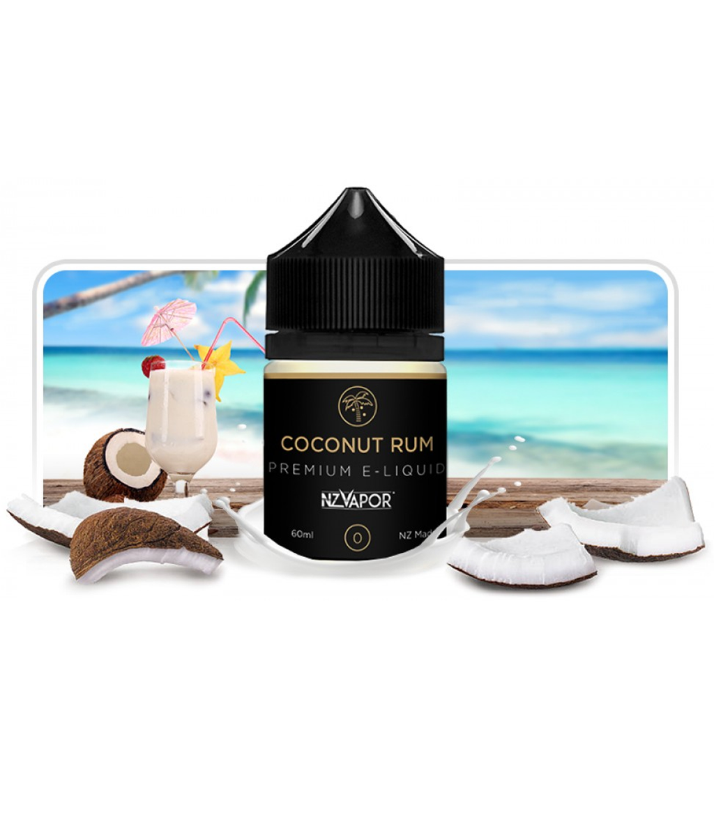 Coconut Rum E-Liquid 60ml-Purplevibe