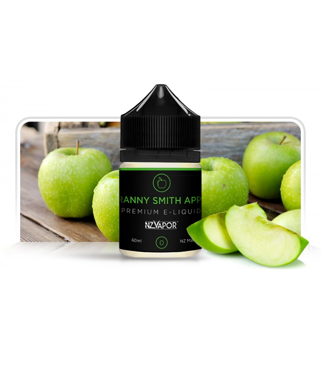 Green Apple E-Liquid 60ml-Purplevibe