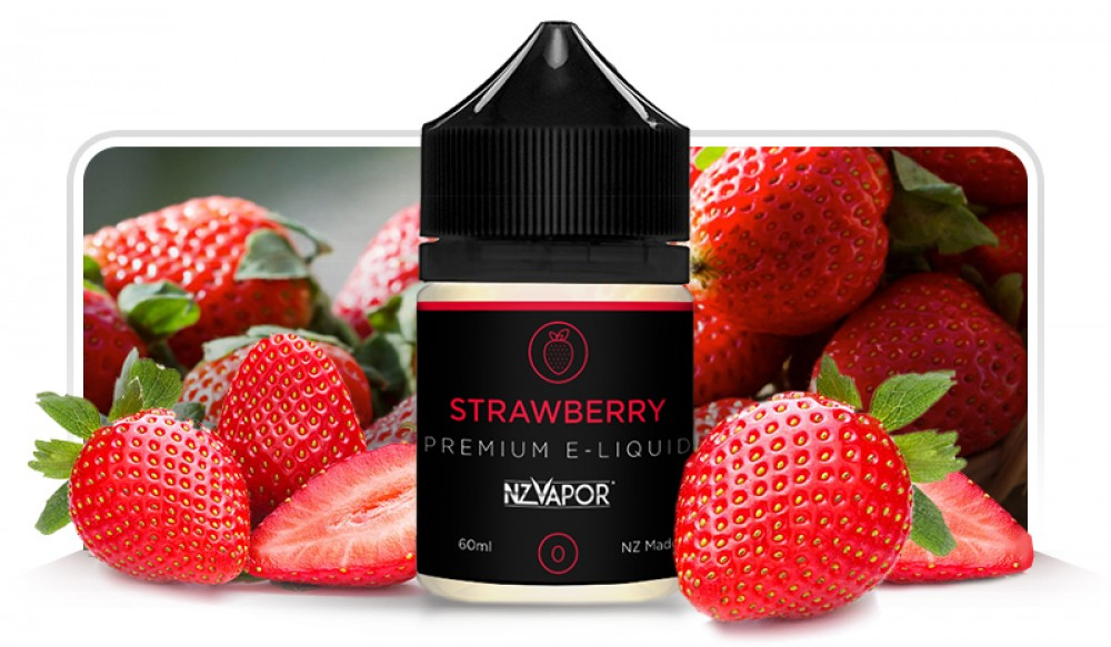 Fresh Strawberry E-Liquid 60ml-Purplevibe