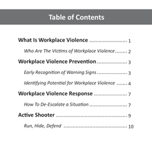 Load image into Gallery viewer, Workplace Violence Policy and Procedures