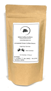 Colombian Supremo Single Origin UNROASTED GREEN - Select Coffee Crafters LLC