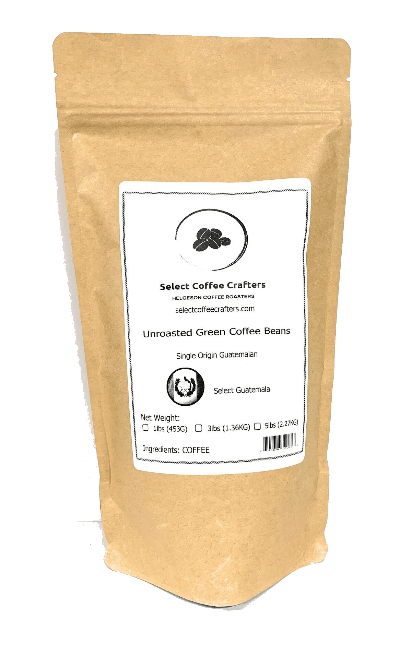 Guatemalan Single Source UNROASTED GREEN - Select Coffee Crafters LLC