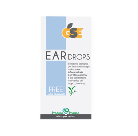 GSE Ear Drops Free - 10 pipette richiudibili da 0,3 ml.