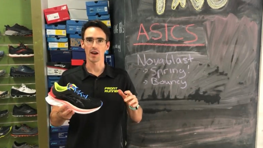 ASICS Novablast - a volume trainer for everyday mileage.