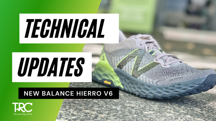 Technical Update | New Balance Hierro V6 ( TRAIL )