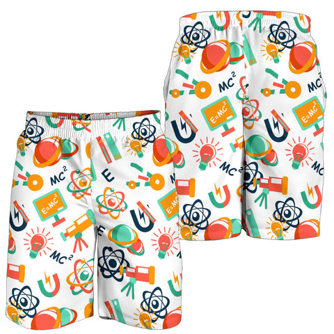 Science All Over Print Men's Shorts