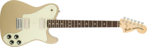 Fender Chris Shiflett Artist Series Signature Telecaster Deluxe Shoreline Gold