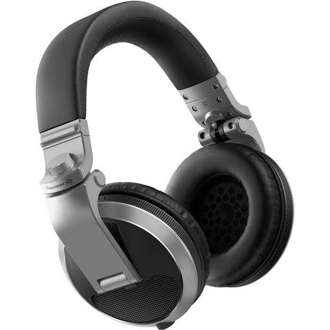 Pioneer DJ HDJ-X5-S Over-Ear DJ Headphones (Silver) - CBN Music Warehouse