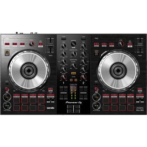 Pioneer DDJ-SB3 Portable 2-Channel DJ Controller - CBN Music Warehouse