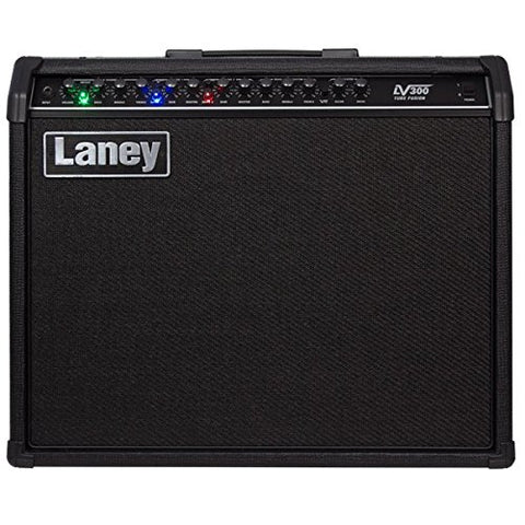 Laney LV300 120W 1x12 Tube Hybrid Guitar Combo Amp ECC83 tube - CBN Music Warehouse