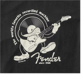 Fender Recording Machine T-Shirt Black - Large - CBN Music Warehouse