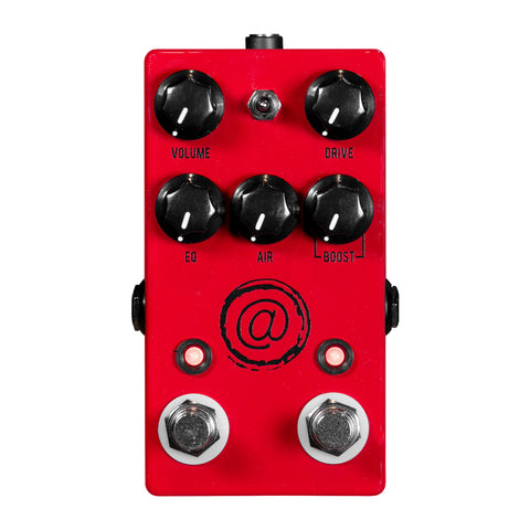 JHS AT+ Andy Timmons Signature Drive guitar Pedal - Red - CBN Music Warehouse