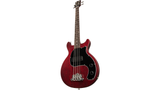 Gibson Les Paul Junior Tribute DC Bass - Worn Cherry - CBN Music Warehouse