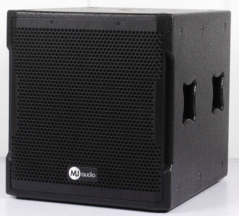 MJ Audio BW13-15WA 15 inch 1500 Watts RMS Powered Subwoofer