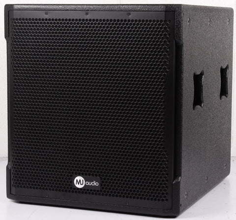 MJ Audio BW13-18WA 18 inch 1800 Watts RMS Powered Subwoofer