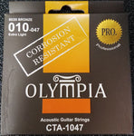 Olympia CTA1047 Accoustic Guitar Strings 010-047 - Extra Light - CBN Music Warehouse
