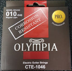 Olympia CTE-1046 Pro Electric Guitar Strings - Corrosion Resistant - CBN Music Warehouse