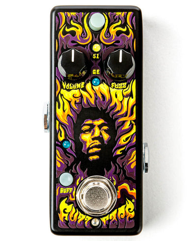 Dunlop JHW1 Fuzz Face Mini Jimi Hendrix Signature Pedal - CBN Music Warehouse