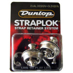 Dunlop Straplok Dual Design Strap Retainer System - Nickel - CBN Music Warehouse