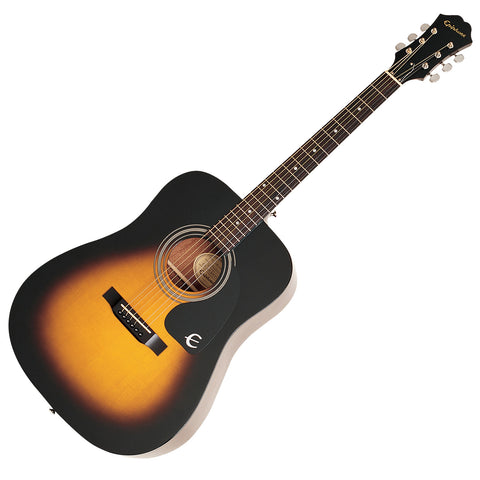 Epiphone DR-100 Acoustic Guitar Vintage Sunburst - CBN Music Warehouse