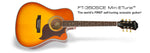 Epiphone FT-350SCE Acoustic-Electric Guitar - Violin Burst - CBN Music Warehouse