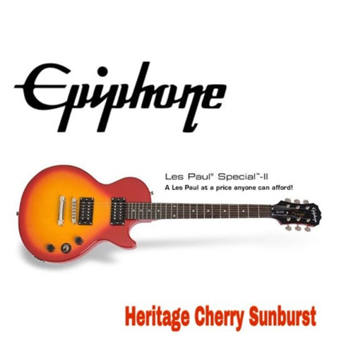 Epiphone Les Paul SPECIAL-II Electric Guitar Heritage, Cherry Sunburst - CBN Music Warehouse