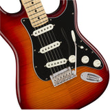 Fender Player Stratocaster Plus Top Electric Guitar - Aged Cherry Burst - CBN Music Warehouse