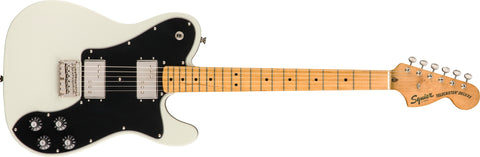 Squier Vibe'70s Telecaster Deluxe - Olympic White - CBN Music Warehouse
