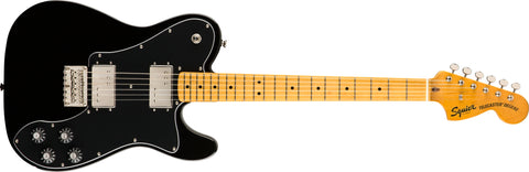 Squier Classic Vibe '70s Telecaster Delux - Black - CBN Music Warehouse