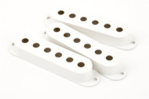 Fender Stratocaster Pickup Covers - White - CBN Music Warehouse