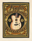 Fender Acoustisonic Tele T-Shirt - Cream