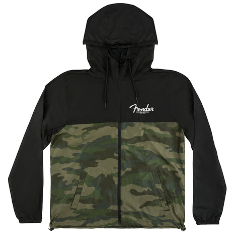 Fender Camo & Black Windbreaker