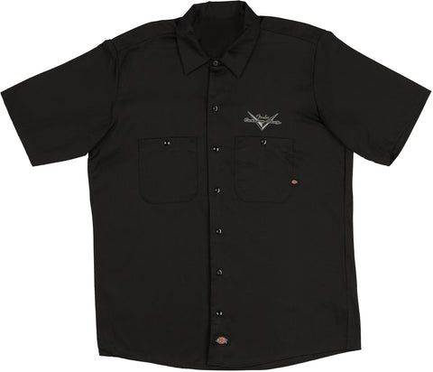 Fender Custom Shop Eagle Workshirt - Black