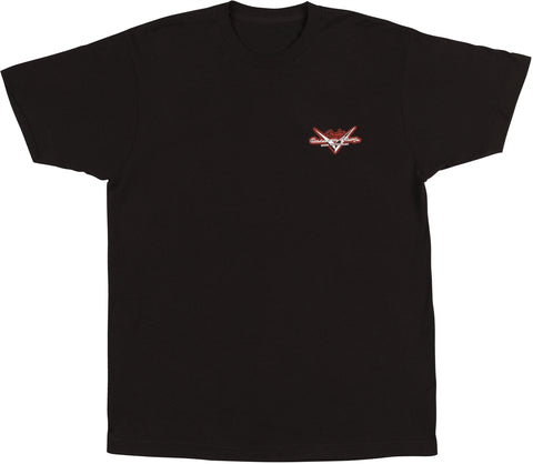 Fender Custom Shop Globe T-Shirt - Black