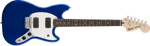 Squier SQ Bullet Mustang HH Electric Guitar - Imperial Blue - CBN Music Warehouse