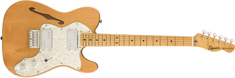 Squier Classic Vibe '70s Telecster Thinline - Natural - CBN Music Warehouse