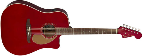Fender California Series Redondo Player - Candy Apple Red - CBN Music Warehouse