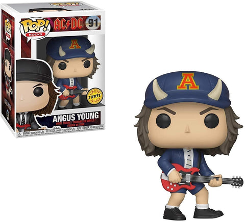 Funko Pop! Rocks #91 AC/DC Angus Young w/ Hiway to Hell Hat