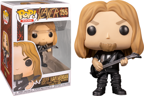 Funko Pop! Rocks: Slayer - Jeff Hanneman #155