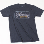 Gibson Custom t-shirt heathered gray  XL - CBN Music Warehouse