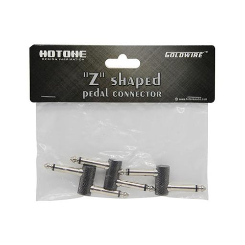 Hotone ZC-3 1.5cm Z Shaped Pedal Connector (3 Pack) - CBN Music Warehouse