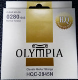 Olympia HQC-2845N Classic Guitar Strings - 0280, 0322, 0403, 029, 035, 043 - CBN Music Warehouse
