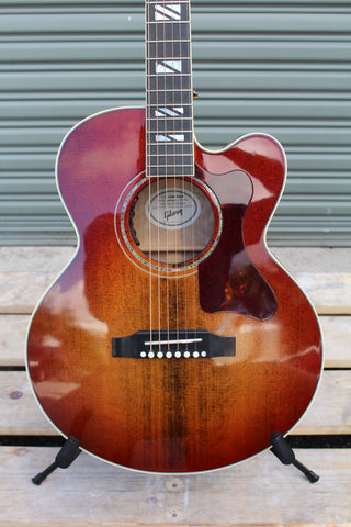 Gibson Montana Parlor Chroma 2019 Bourbon Burst - CBN Music Warehouse