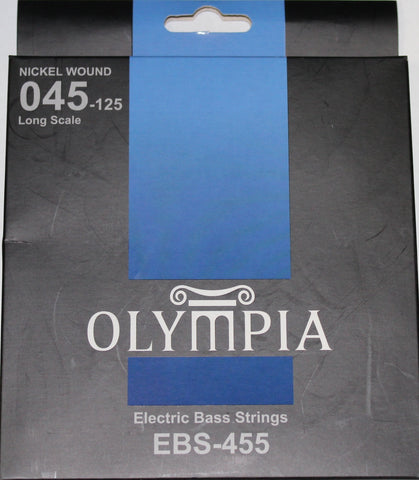 Olympia EBS-410 Electric Bass Strings - 040, 060, 075, 095 - CBN Music Warehouse