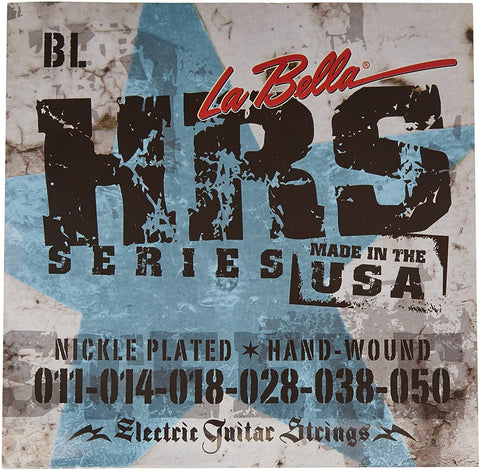 La Bella HRS-BL Electric Guitar String Blues Light .011-.050 - CBN Music Warehouse