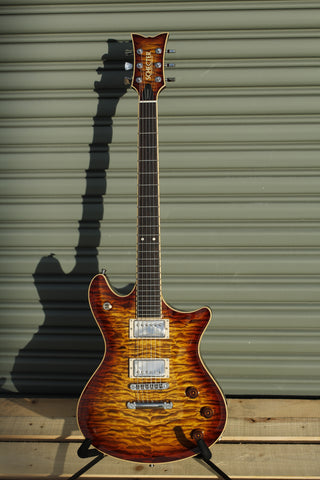 Schecter Tempest Custom Shop Quilted Maple Masterworks USA Hand made - Bengal Burst - CBN Music Warehouse